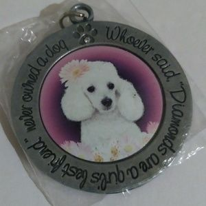 Jewelry - Dog Poodle Keychain or Purse Accessory